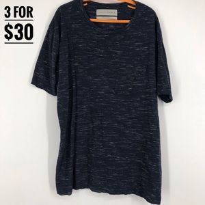 Zara Blue and White Tee shirt Size Mens Small